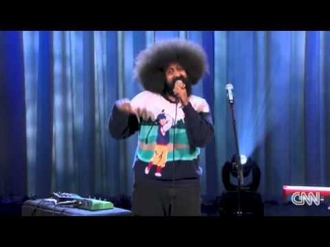 Reggie Watts Standup Music on Conan
