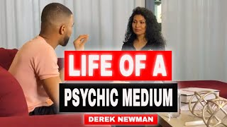 Life of a Psychic Medium: Derek Newman Gives An Emotional Healing Reading (Ep.3)