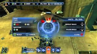 Supreme Commander 2 Xbox One Skirmish Gameplay