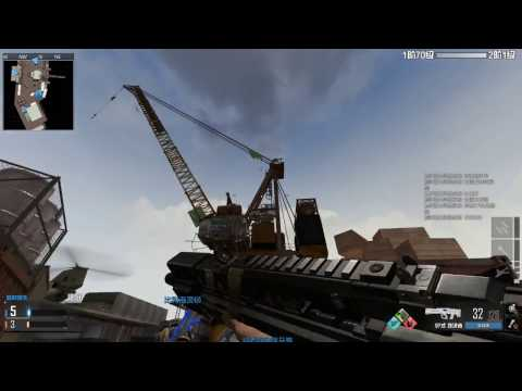 """Call of Duty: Online China Beta server """"Offshore"""" TDM Rush map."""