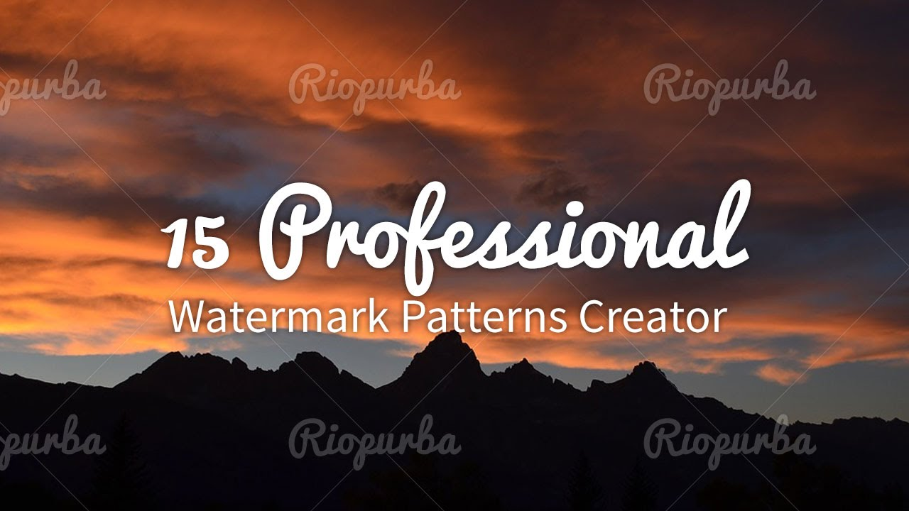 How To Make Watermark Easily In Adobe Photoshop Youtube