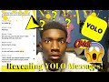 Revealing YOLO Anonymous Messages REALLY WORKS!?