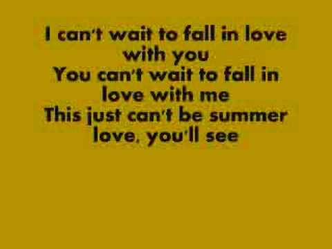 Summer Love w/ lyrics