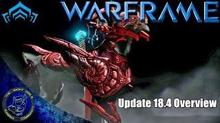 Warframe: Update 18.4 Overview - The Trinity Strega Skin Bundle