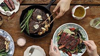 집에서도 완벽하게✨스테이크 맛있게 굽는 법👩🏻🍳: The Perfect Steak [아내의 식탁]
