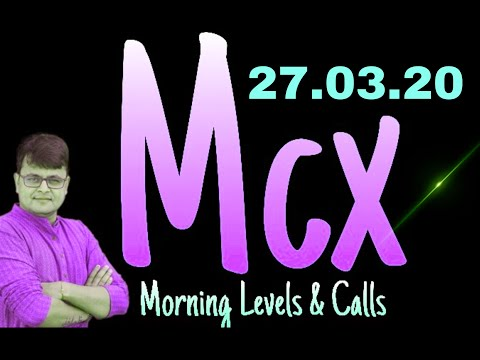 MCX MORNING UPDATES-CRUDE-OIL,NATURAL-GAS,GOLD,SILVER & COPPER- 27 March 2020 (In Hindi)