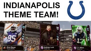 INDIANAPOLIS COLTS THEME TEAM! WE DO NOT HORSE AROUND - MADDEN 19 ULTIMATE TEAM