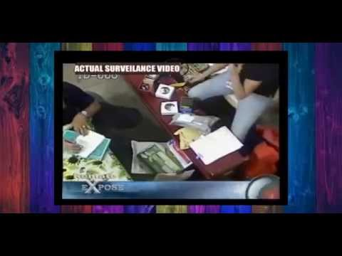 Actual surveillance inside philpost office- OFW must watch this!!!