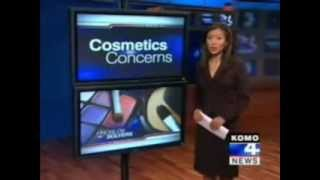 Komo 4 News - Toxic Chemicals In Cosmetics (Everyday Produts), Learn To Read Labels!
