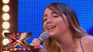 Amy Connelly sings Greatest Love Of All | Arena Auditions Wk 1 - The X Factor UK 2014