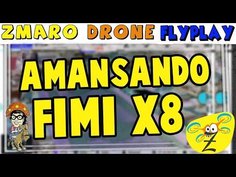 Adestrando E Amansando O Drone Fimi X8 Com Zmaro Em Um FlyPlay