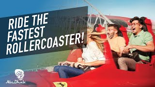 Experience the thrill of Ferrari World Abu Dhabi