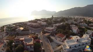 Isola delle Femmine Palermo: Lungomare: Riprese aeree Drone e Isolotto
