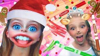 Princess Christmas 3 Marker Challenge | FunPop!