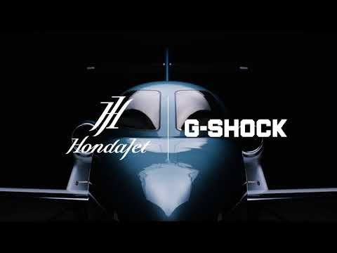 HondaJet collaboration model promotional movie: CASIO G-SHOCK