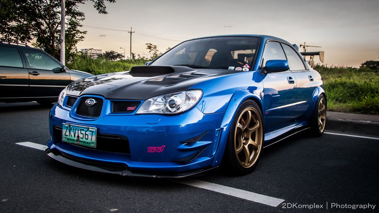 Car Wallpaper App Brutal 2006 Subaru Impreza Wrx Sti Exhaust Sound Youtube