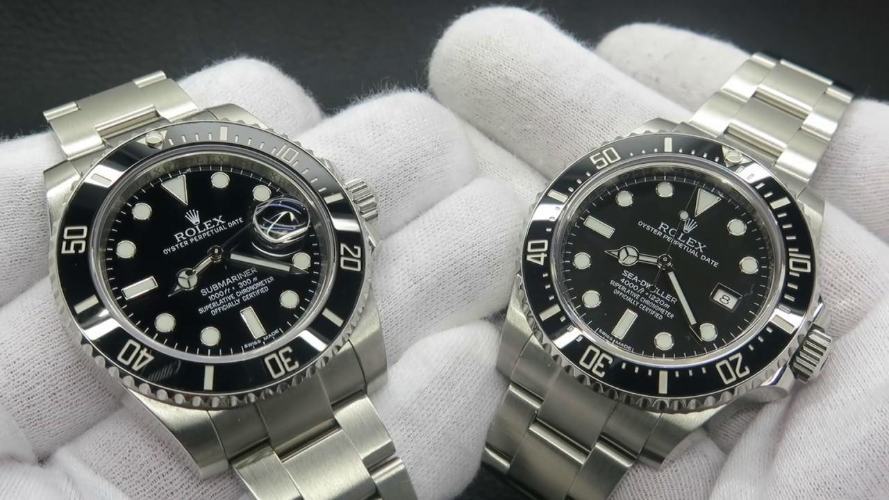 DavidSW , Sea Dweller VS Submariner Date