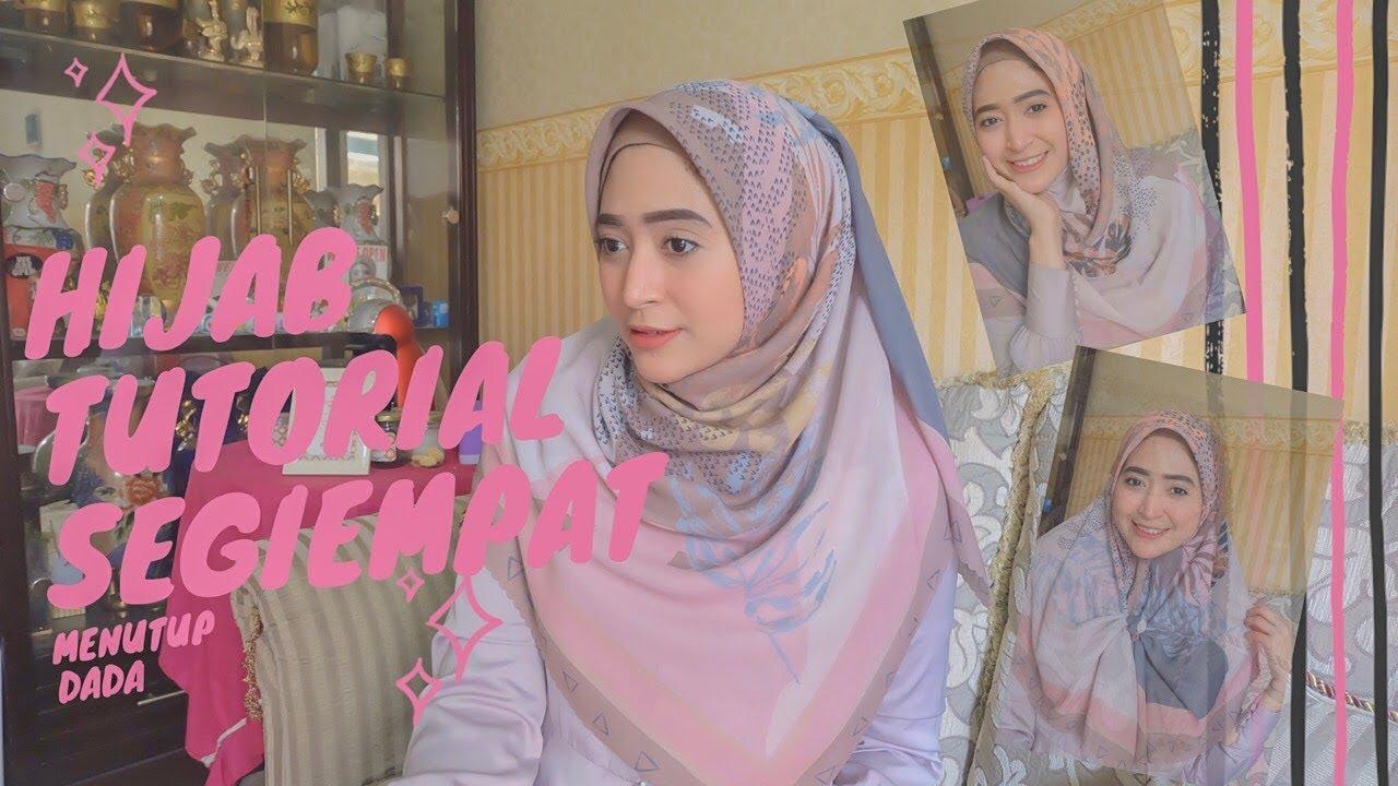 5 Hijab Tutorial Segiempat Simple Menutup Dada Cocok Buat Mamah Muda Youtube