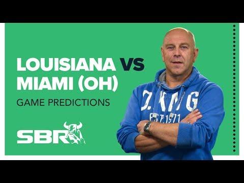 Louisiana Vs. Miami (OH) | 2020 LENDINGTREE BOWL | NCAA Football Game Predictions