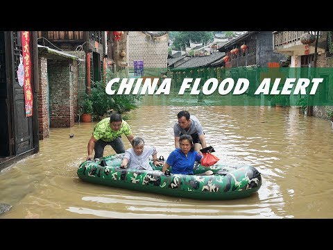 CGTN Live: Hunan suffers worst flooding in its history