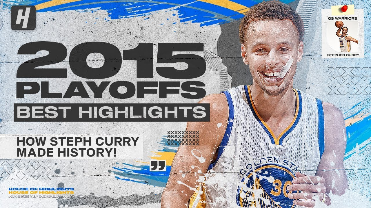 Stephen Curry HISTORICAL 2015 NBA Playoffs & The Finals! BEST Highlights & Moments!