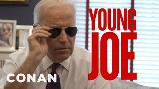 Joe Biden Gloats About His Age In A New Campaign Ad - CONAN on TBS