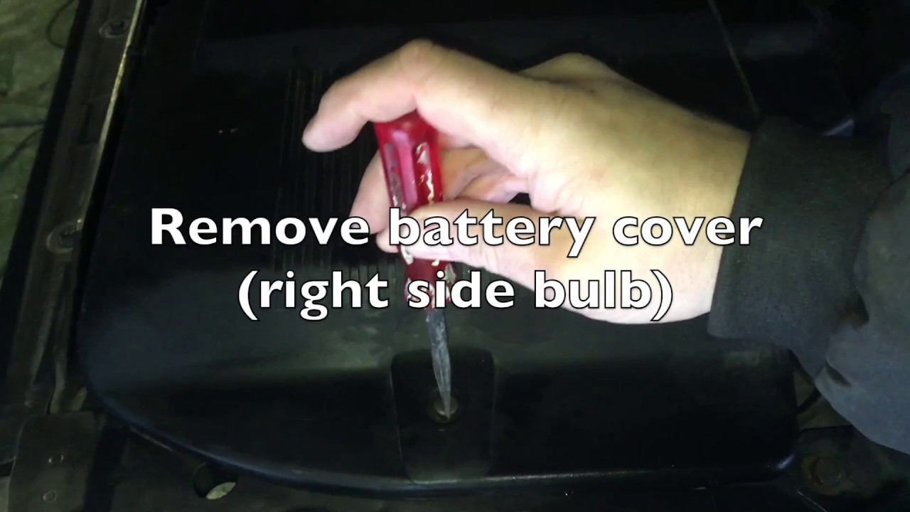 Range Rover P38 # 014 - Headlight Bulb, Radio Antenna and Midrange on