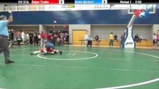 60 KG R2 - Jenna Burkert (NYAC) vs. Dajan Treder (Jimmie)
