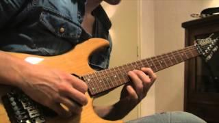 Hamer Diablo Michael Denner outro solo The Black Horsemen