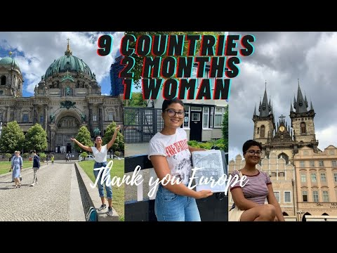 Solo traveling through Europe!