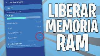 COMO LIBERAR MEMORIA RAM  //  ACELERA TU MOVIL AL DOBLE screenshot 1