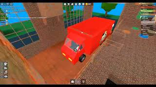 Rworking at a pizzeria in the Roblox with my friend Gohan