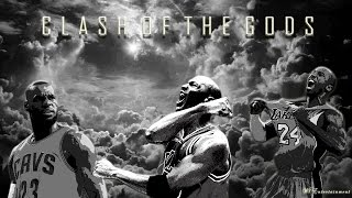 Michael  Jordan | Kobe Bryant | Lebron James - Clash of the Gods ᴴᴰ