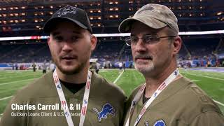 NFL Salute to Service | Quicken Loans and the Detroit Lions
