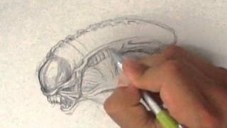 How to Draw Alien from Aliens