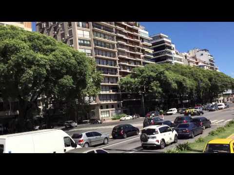 Tour Bus Ride in Buenos Aires Argentina