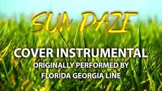Sun Daze (Cover Instrumental) [In the Style of Florida Georgia Line]