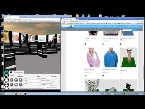 3D store Integration with Commerce sites