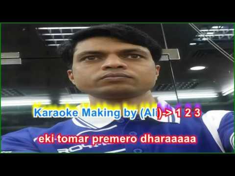 Rup Sagore Jholok Mariya karaoke(YouTube/vinnojogot)