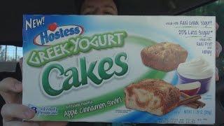 Carbs - Hostess Greek Yogurt Cakes Apple Cinnamon Swirl