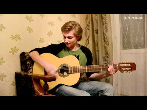 Как научиться играть на гитаре. Урок I. Первые аккорды.