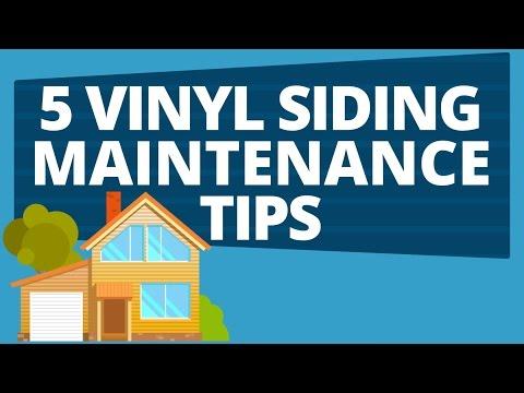5 Vinyl Siding Maintenance Tips