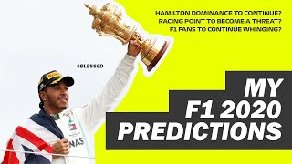 My F1 2020 Season Predictions