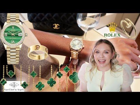 Luxury Shopping Vlog ☆ CARTIER ☆ VAN CLEEF & ARPELS ☆ ROLEX ☆ BLU BOHO FINE JEWELRY