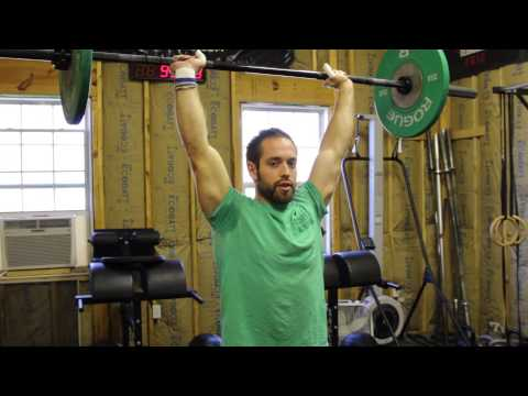 12-13-13 Project Mayhem - Increase Your Clean and Jerk Efficiency
