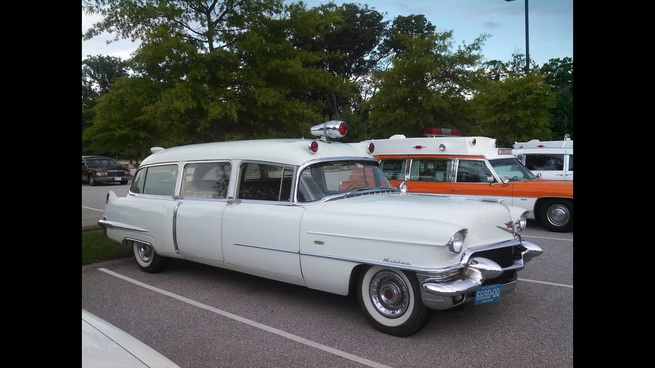 A Walk About The Cadillac Hearses Ambulances And Limos At The 2016