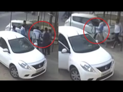 Live Murder At Restaurant In Meerut