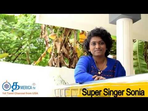 Super Singer Sonia's message to fans
