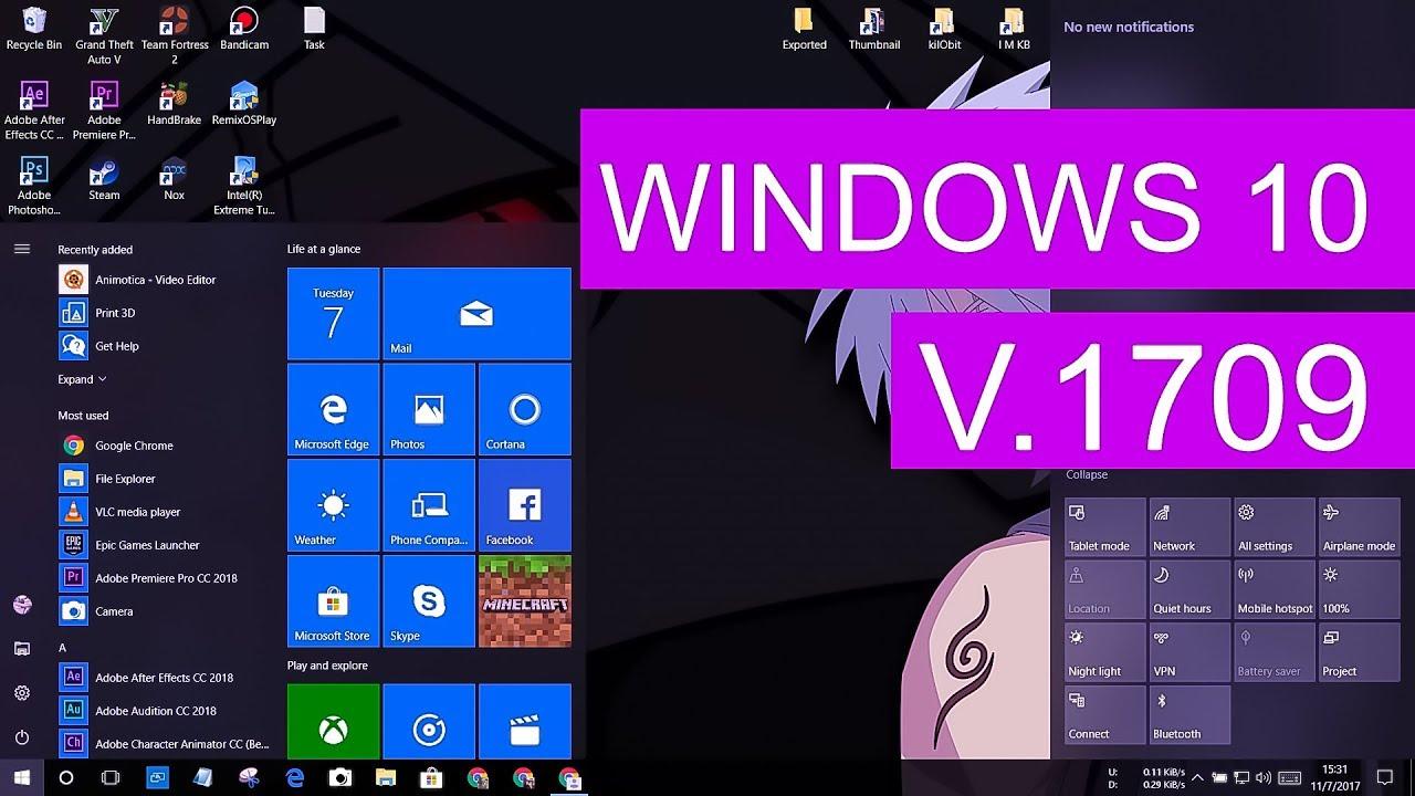 windows 10 1709 download upgrade