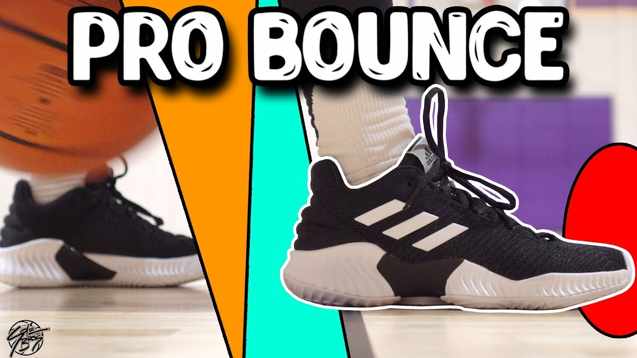 brand new 0dfcc 6a571 Adidas Pro Bounce 2018 Low Performance Review!